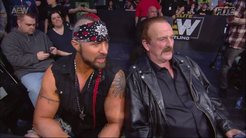 Jake Roberts introduced his client to the world this week