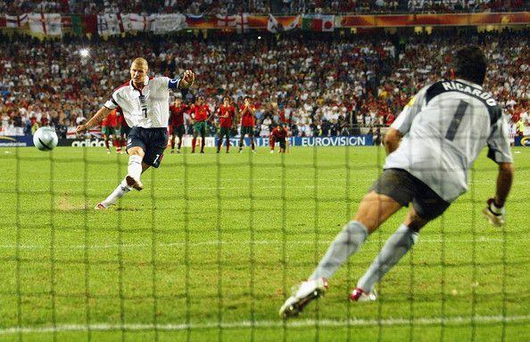 David Beckham became another victim of England