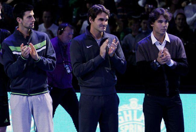 The Big Three in tennis