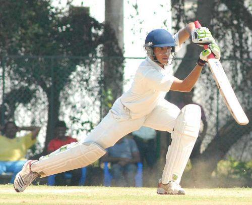 Rahul Dalal scored a double century against Mizoram