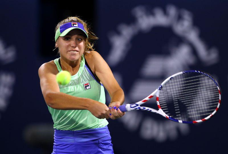 Sofia Kenin is now on a three-match losing streak