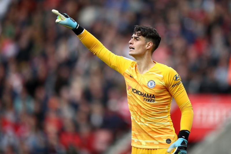 Kepa was simply brilliant in marshalling the Chelsea defence