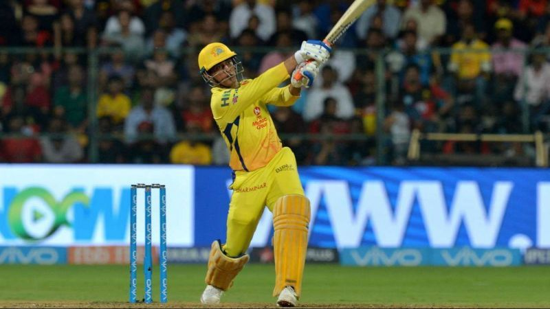 MS Dhoni almost powered the Chennai Super Kings to a win in Mohali