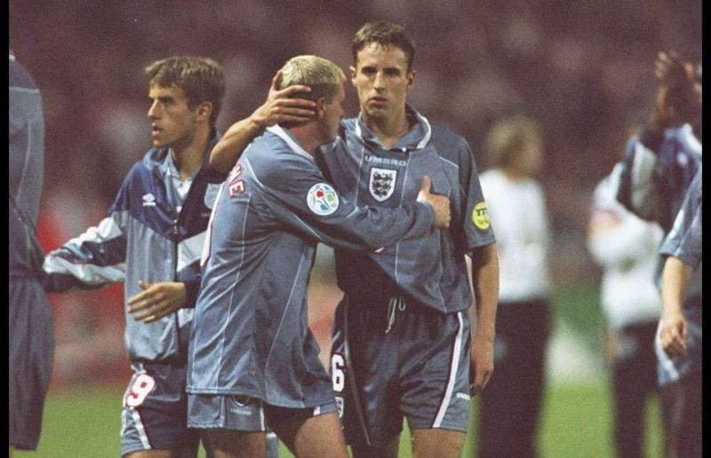 Gareth Southgate may draw comparisons between Grealish and his former England teammate Paul Gascoigne