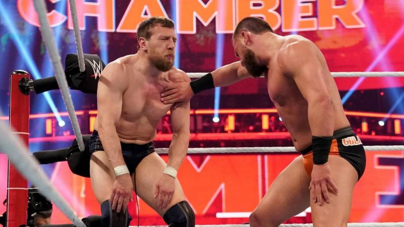 One of many, many painful moves taken by Daniel Bryan on Sunday night.