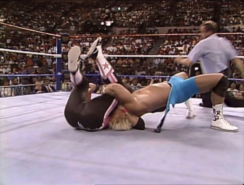 Bret Hart suffers the Perfect Plex at SummerSlam 1991