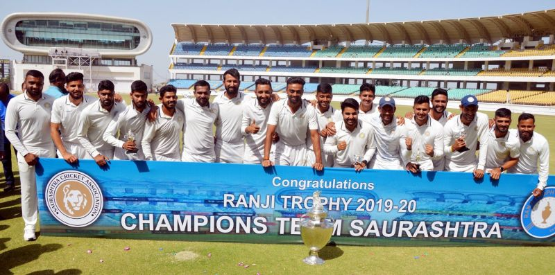 Saurashtra, the 2019-20 Ranji Trophy winners