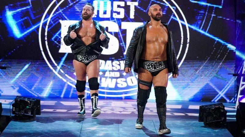 Scott Dawson (right) of The Revival