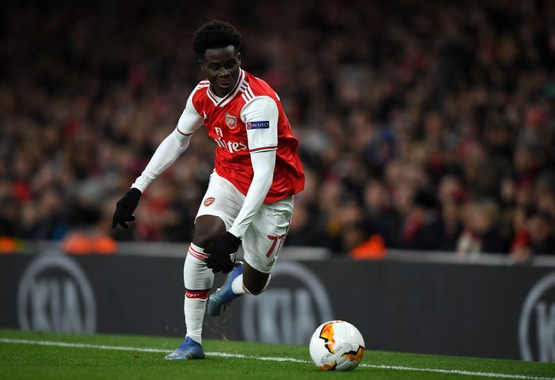 Bukayo Saka has impressed as a winger and as a left-back at Arsenal