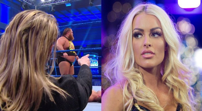 Mandy Rose reacts to tonight
