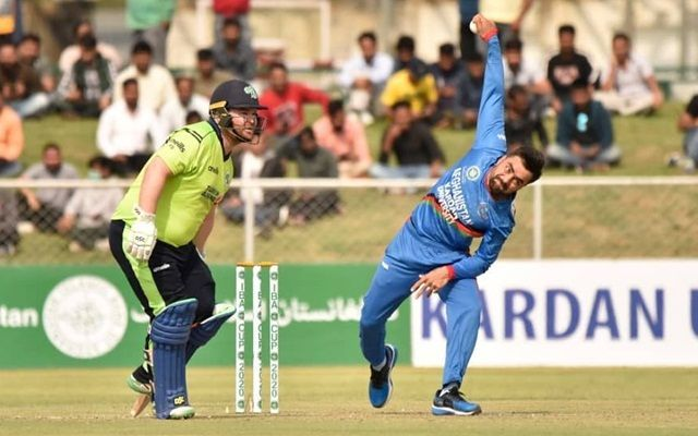 Rashid Khan was the most effective of the Afghanistan bowling unit.