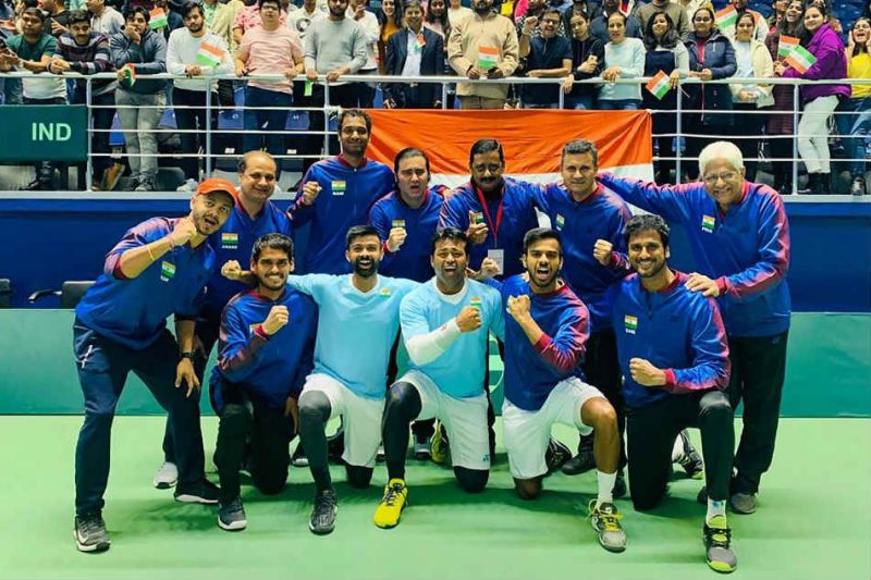 India will face Croatia in the Davis Cup Qualifiers