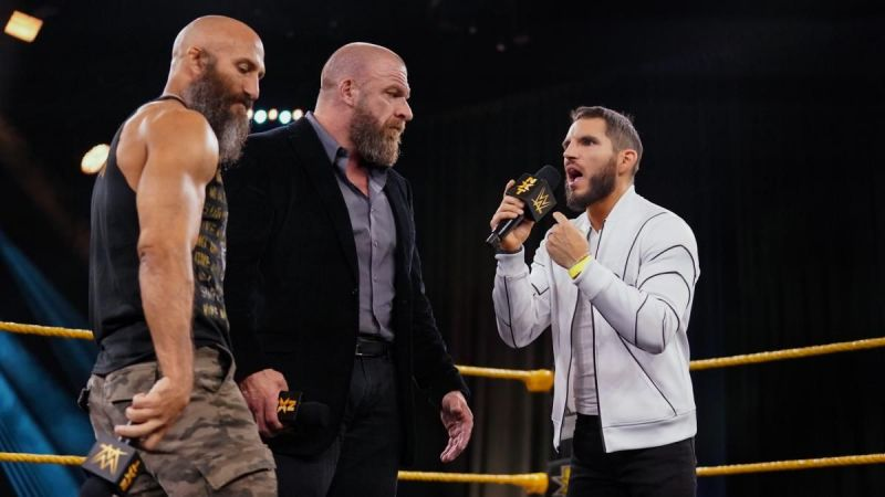 Ciampa and Gargano along with Triple H