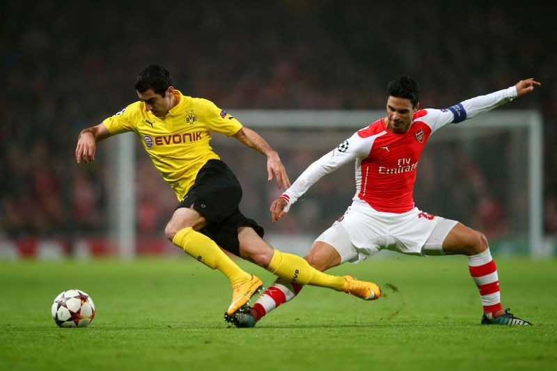 Arteta was an important figure in the Arsenal midfield during his playing career