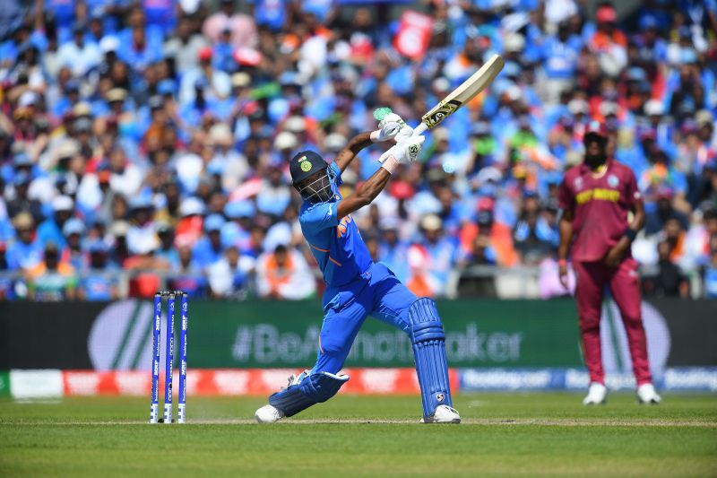 Hardik Pandya registered this score in the DY Patil T20 Cup