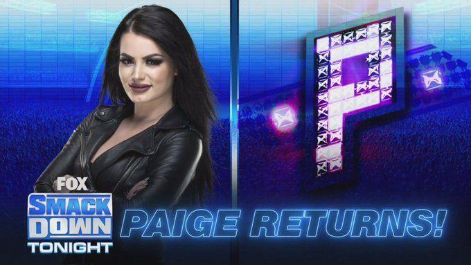 Paige surely made a huge impact tonight
