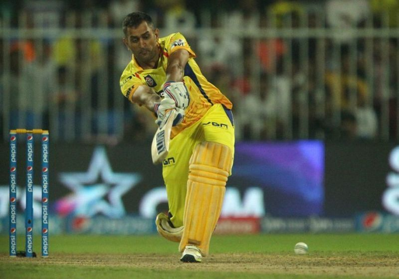 MS Dhoni saved the day for Chennai Super Kings with a magnificent innings