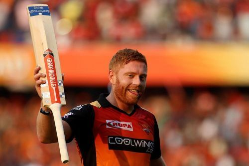 Jonny Bairstow formed a solid partnership with David Warner at Sunrisers Hyderabad