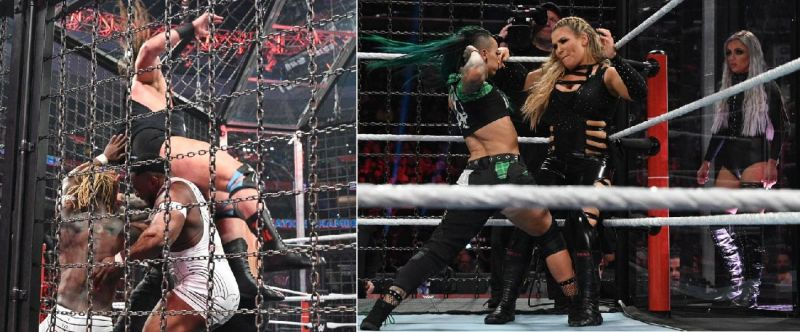 There were some shocking botches last night at Elimination Chamber