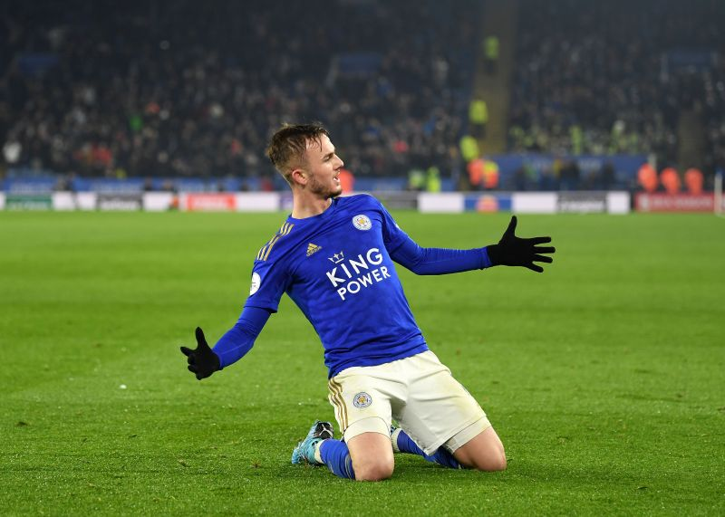 Maddison has proved decisive for Leicester several times this season