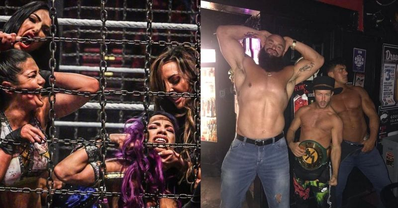 The IIconics, Drake Maverick and EC3 have not been on WWE television for a while