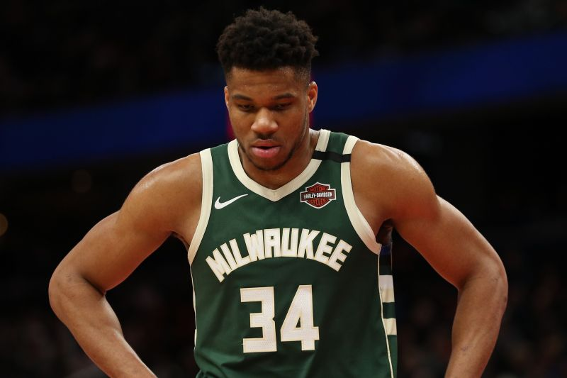 Giannis is getting a precautionary MRI on his left knee.