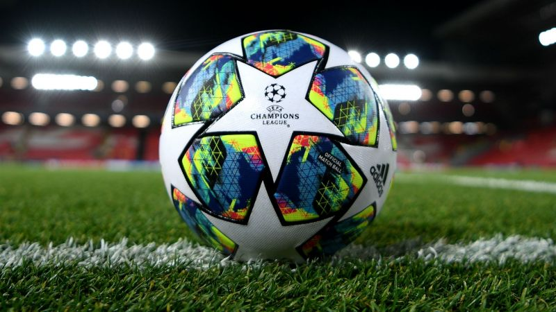 Champions League ball - cropped
