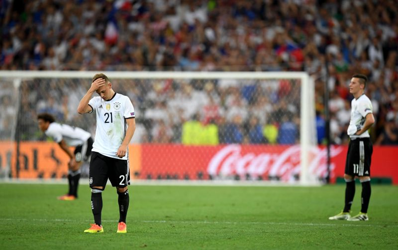 Kimmich after Germany lost in the Euro 2016 semi-finals to France