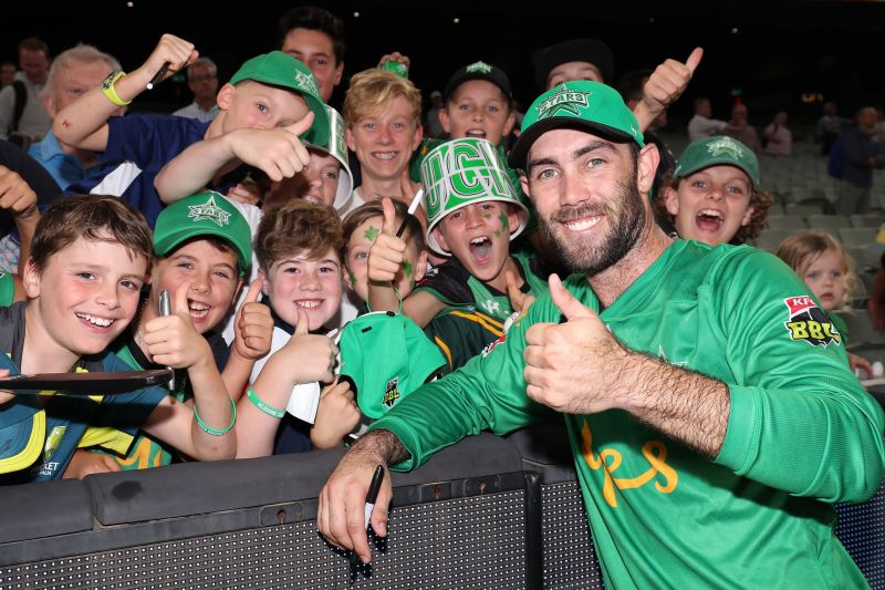Glenn Maxwell captained his team Melbourne Stars to the final of the BBL09.