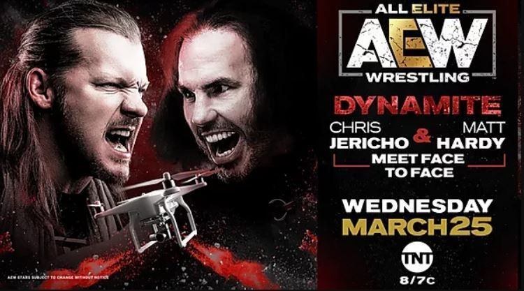 Chris Jericho and Matt Hardy will meet face to face