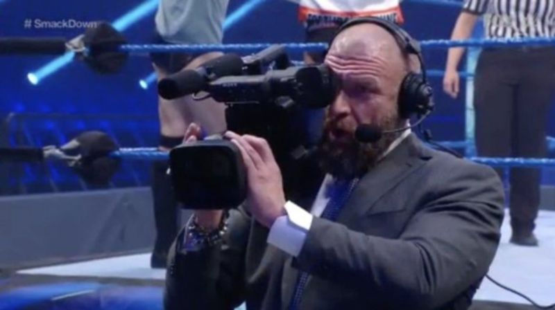 Triple H is unlikely to be behind the camera for WrestleMania, but WWE excels at production
