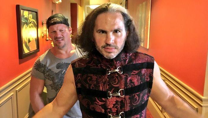 Chris Jericho with Matt Hardy