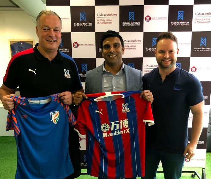 CEO, Crystal Palace FC – Phil Alexander and Chelsea FC's Fan Engagement Lead – Jon Scammell with the GISB Program Director – Neel Shah