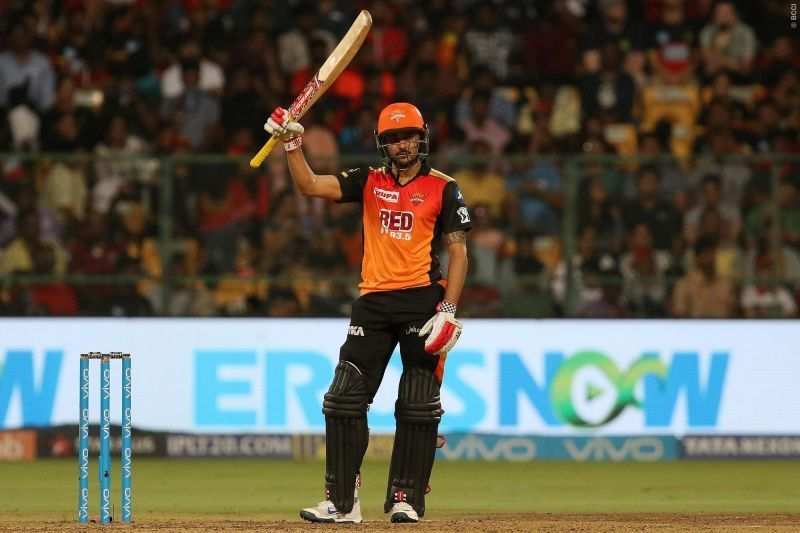 Manish Pandey is a vital cog in the middle order for SRH