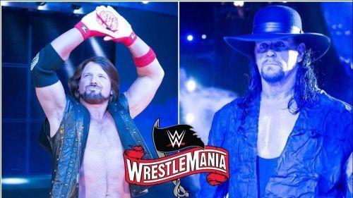 Undertaker versus AJ Styles. Who wins?