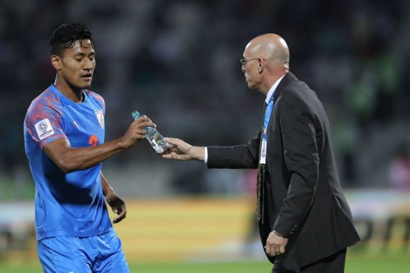 Salam Ranjan Singh was the only I-League player who was part of Indian squad at the AFC Asian Cup 2019