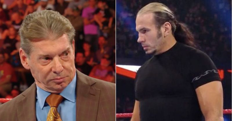Vince McMahon and Matt Hardy