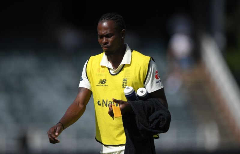Jofra Archer is currently nursing an elbow injury he picked up during England