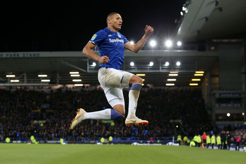 Everton attacker Richarlison has 16 goal contributions in all competitions this season