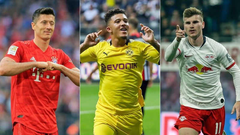 Bundesliga 2019/20: A combined XI featuring the best in every position so far