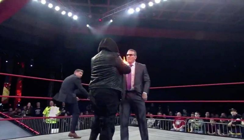 Ken Shamrock was met with a fireball by the man behind Reality Is Lost