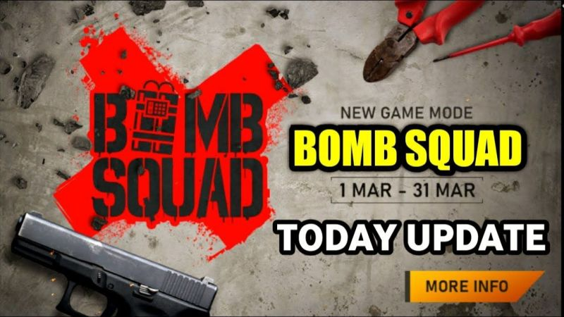 Bomb Squad Mode in Free Fire