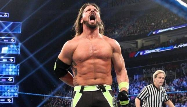 AJ Styles would love to wrestle under No Disqualification rules