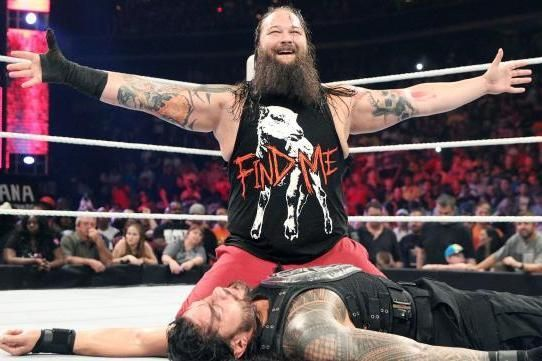 Bray Wyatt during his feud against Roman Reigns