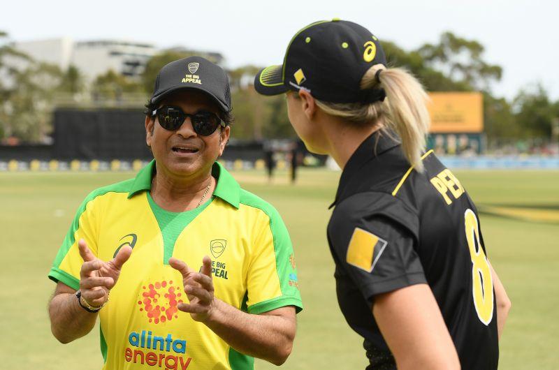 Sachin Tendulkar was recently a part of Bushfire Cricket Bash event