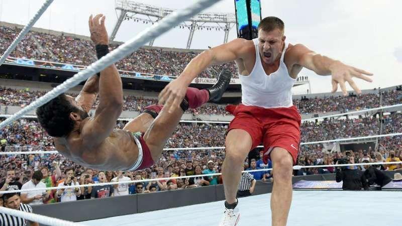 Will Rob Gronkowski make his debut at WrestleMania 36?