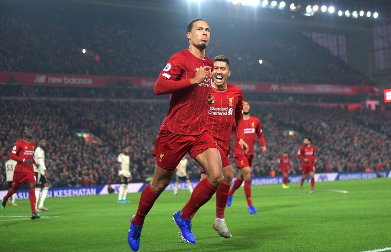 Van Dijk has been dominant for Liverpool this season