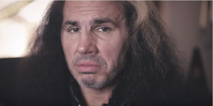 Hardy provides insights into his decision (Pic Source: Matt Hardy YouTube)