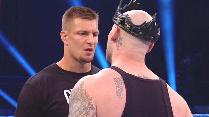 Gronkowski may have found his first enemy in another former NFL player, King Corbin