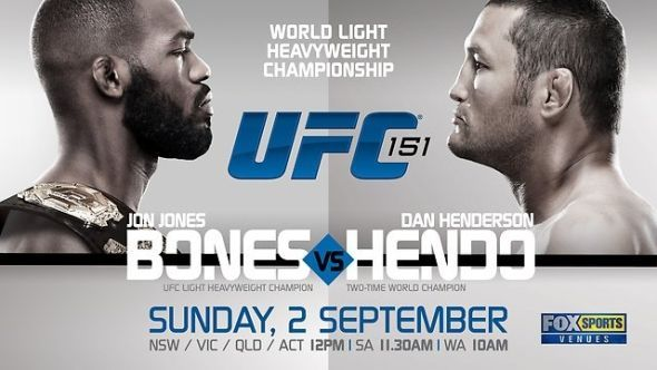 UFC 151 was cancelled after an injury to Dan Henderson